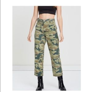 Free People Remy Camouflage Pants NWT Size…